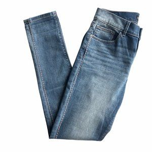 Express High Rise Ankle Leggings Jeans Size 6